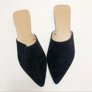 F21 square heel mule flats (10)